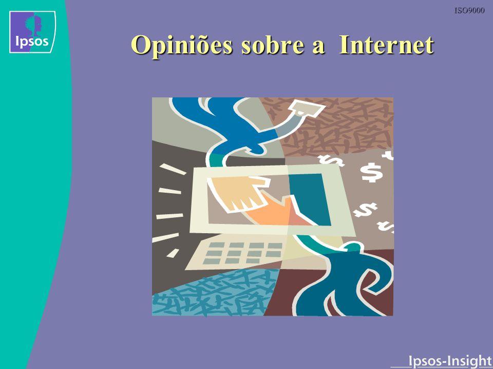 Opiniões sobre a Internet