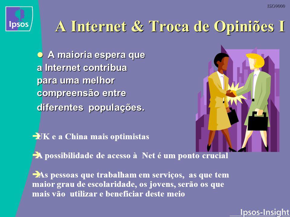 A Internet & Troca de Opiniões I
