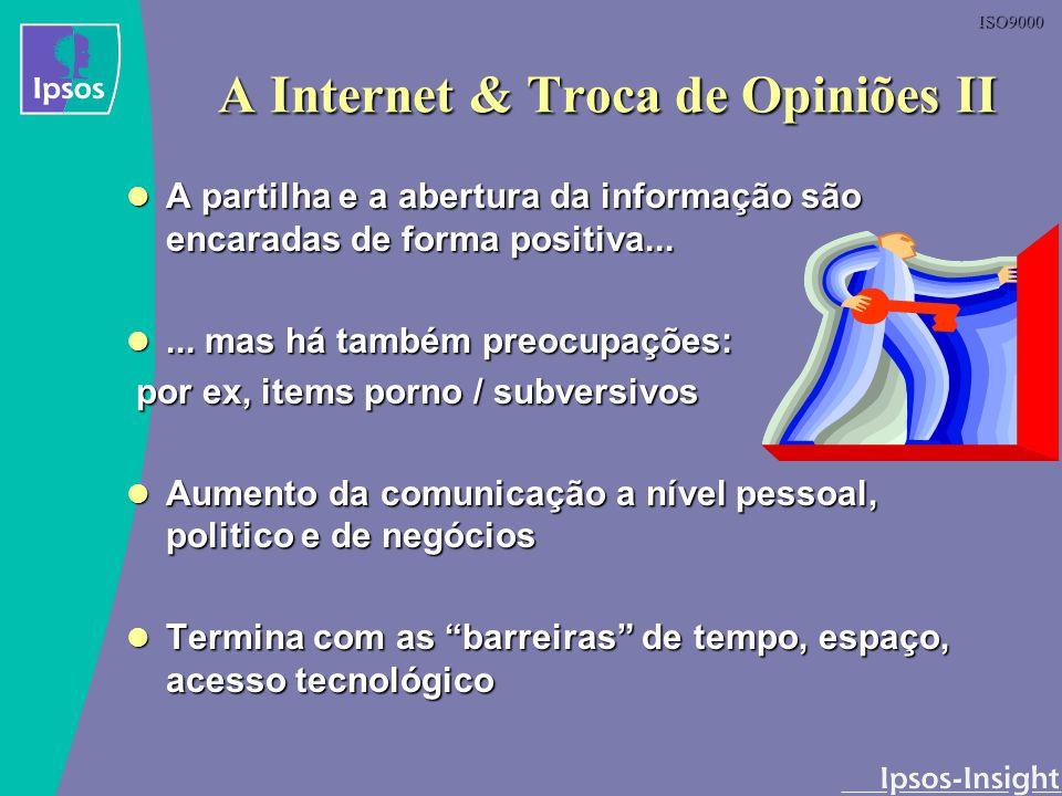 A Internet & Troca de Opiniões II
