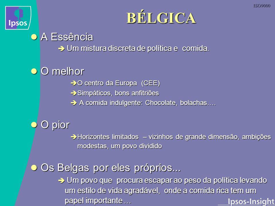 BÉLGICA A Essência O melhor O pior Os Belgas por eles próprios...