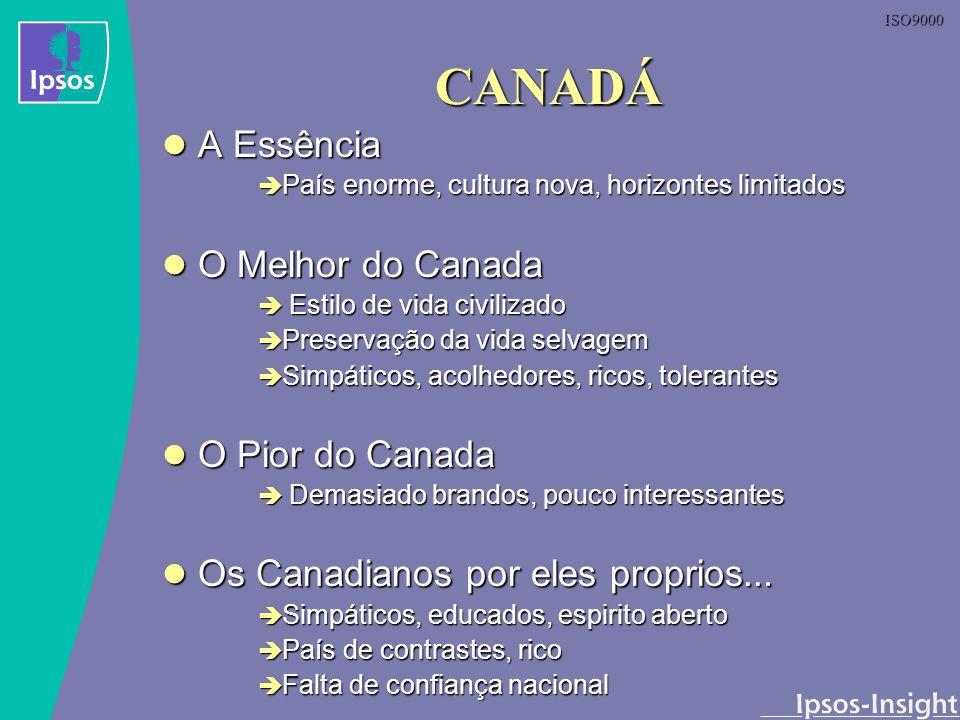 CANADÁ A Essência O Melhor do Canada O Pior do Canada