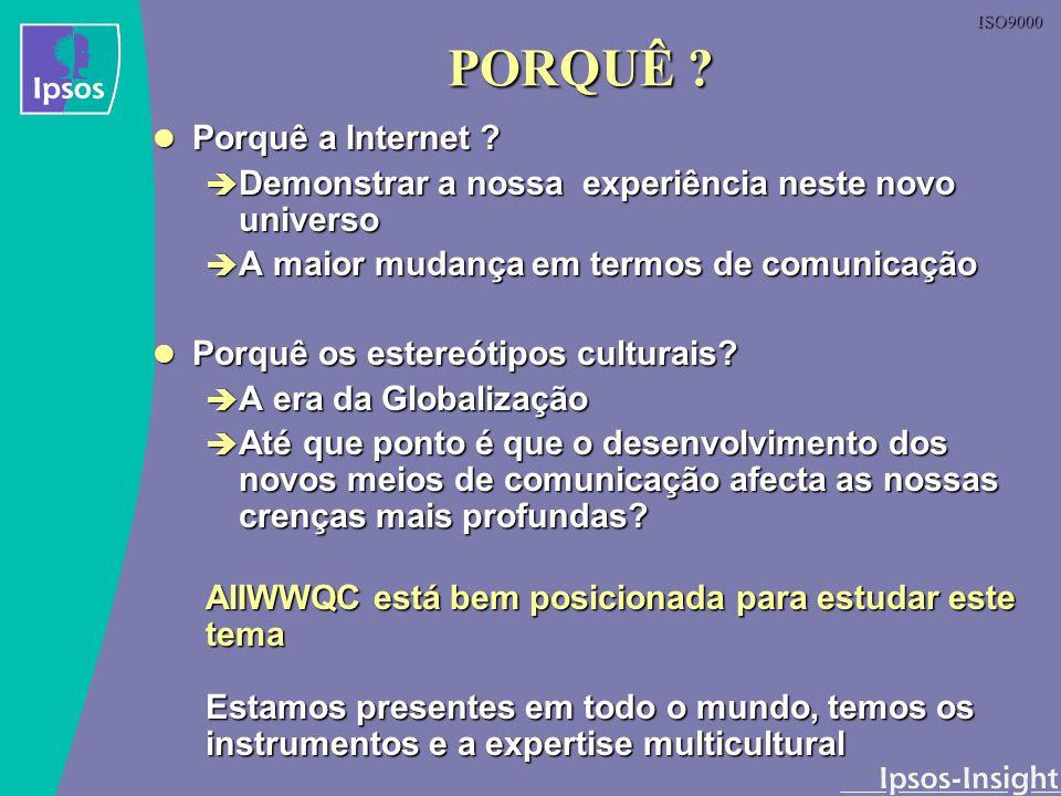 PORQUÊ Porquê a Internet