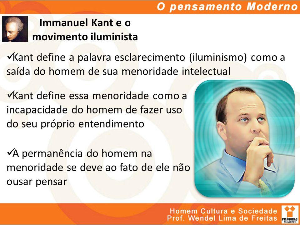Immanuel Kant e o movimento iluminista