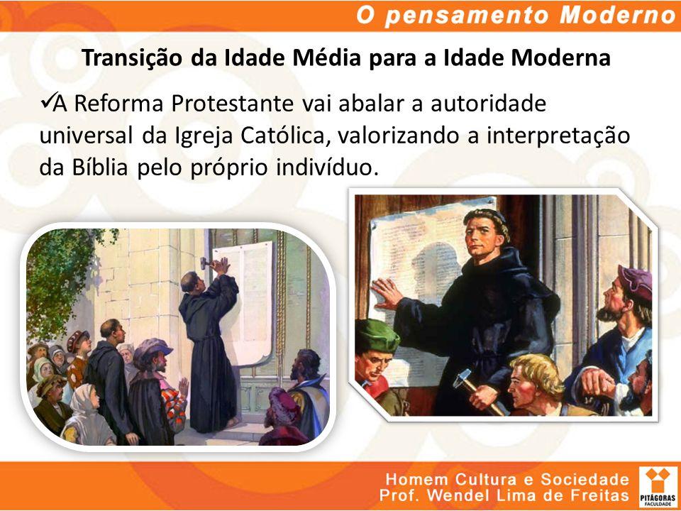 Transição da Idade Média para a Idade Moderna