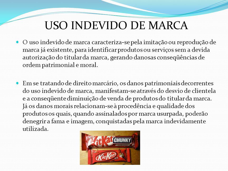 USO INDEVIDO DE MARCA