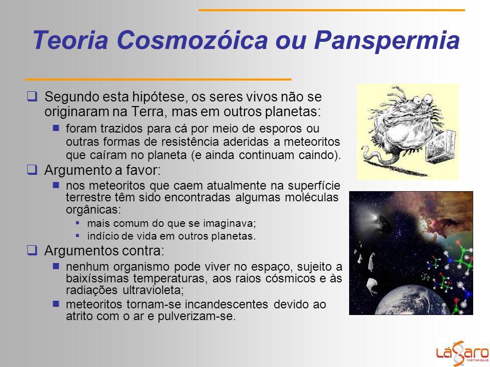 Teoria Cosmozóica ou Panspermia