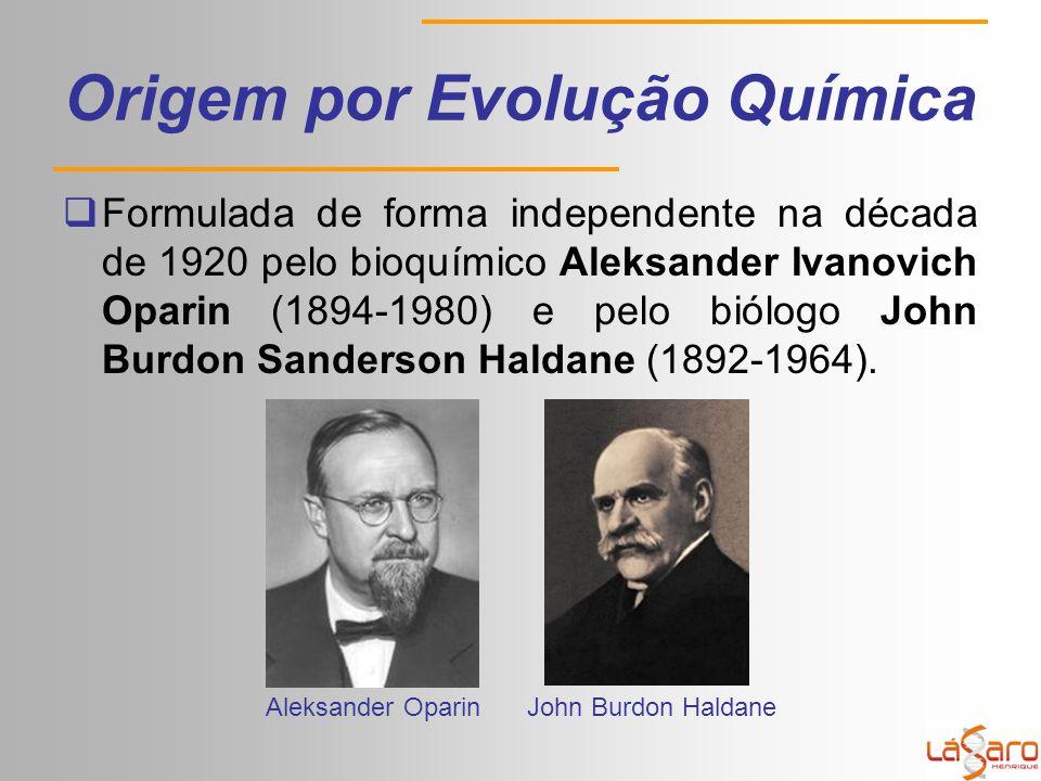 Origem por Evolução Química