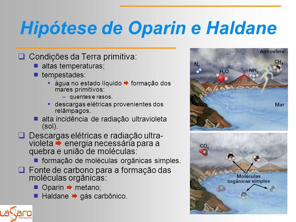 Hipótese de Oparin e Haldane