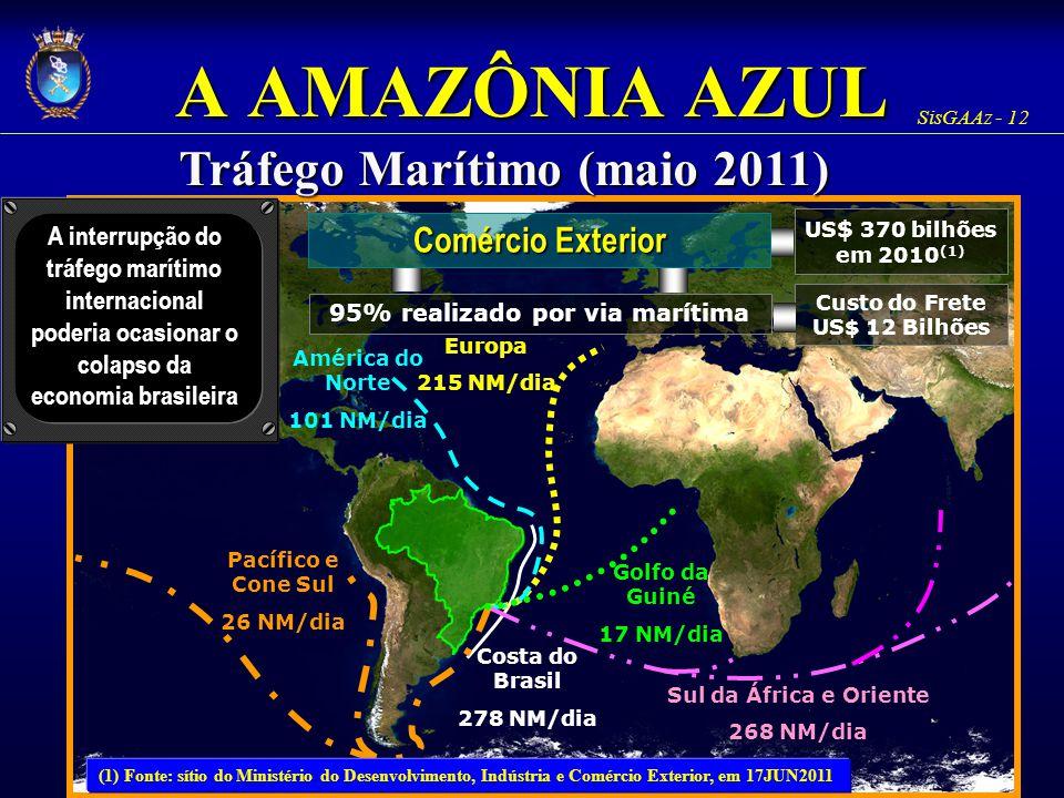 Tráfego Marítimo (maio 2011)