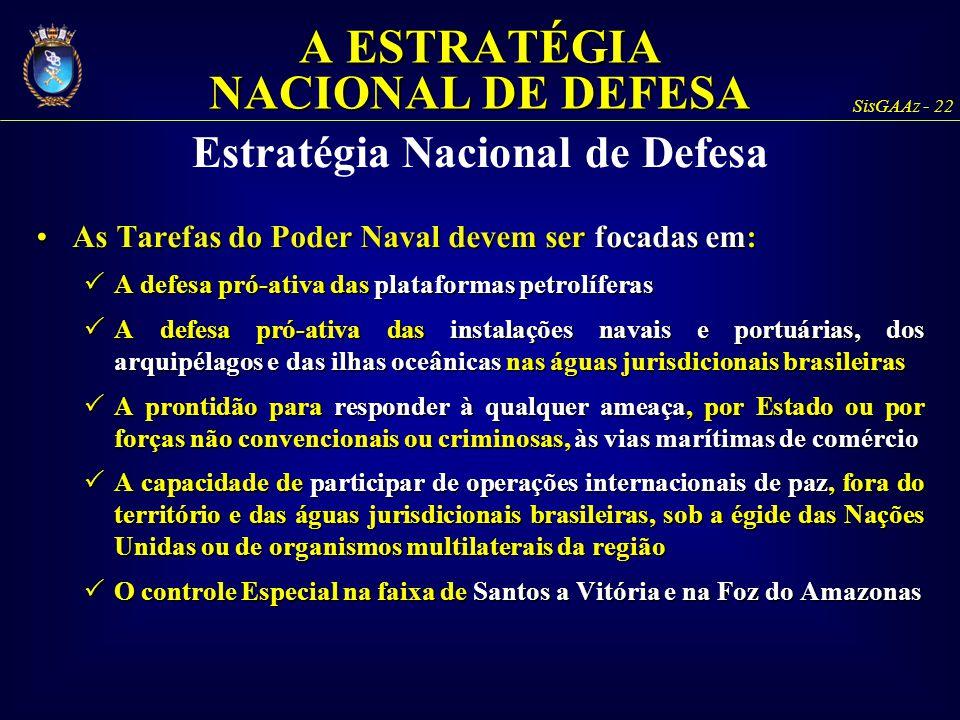 A ESTRATÉGIA NACIONAL DE DEFESA Estratégia Nacional de Defesa