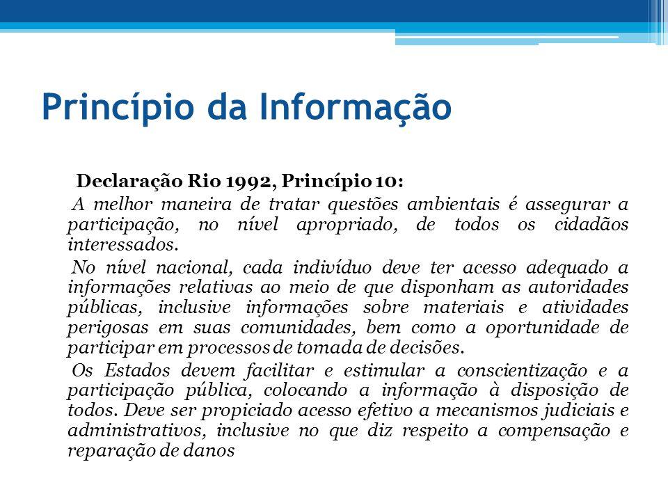 Princípio da Informação