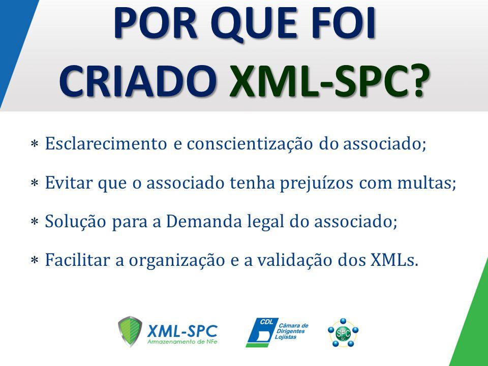 POR QUE FOI CRIADO XML-SPC