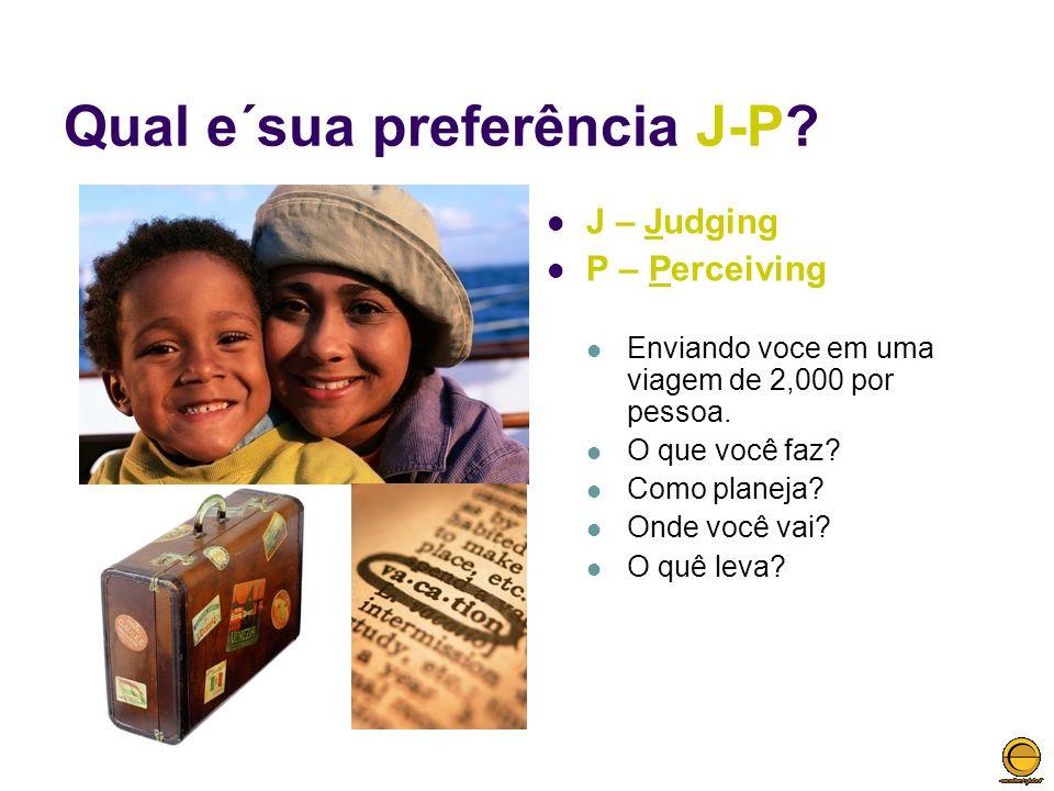 Qual e´sua preferência J-P