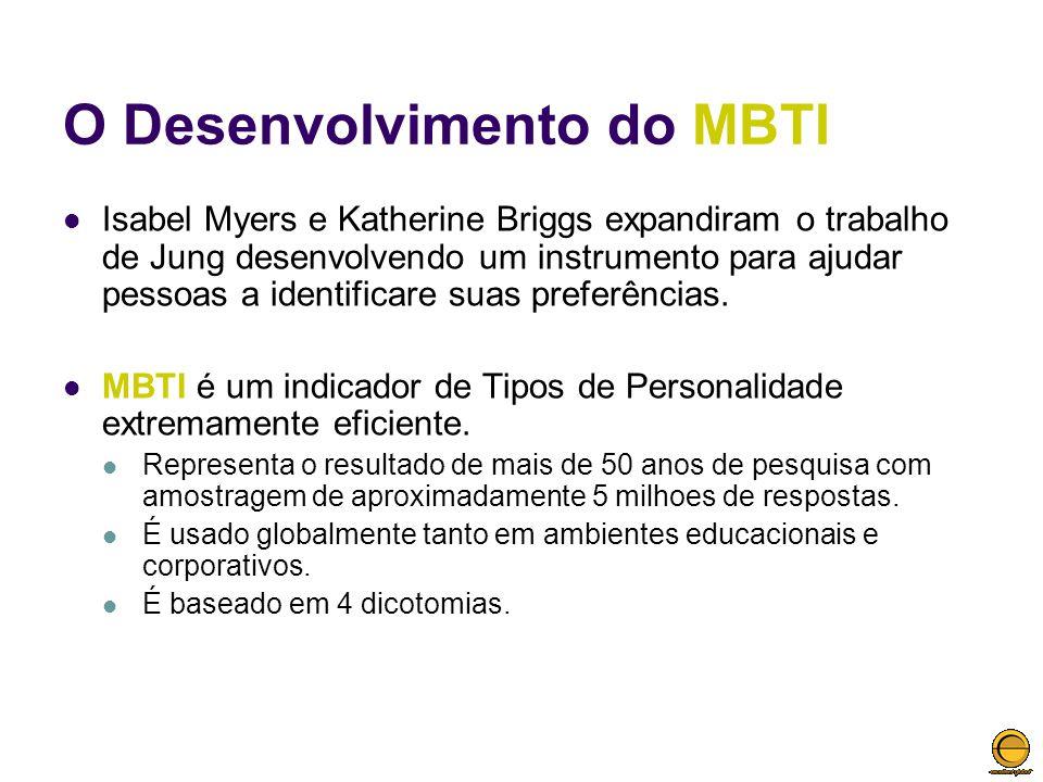 O Desenvolvimento do MBTI