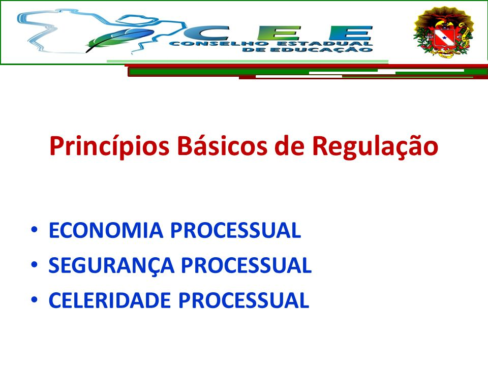Princípios Básicos de Regulação