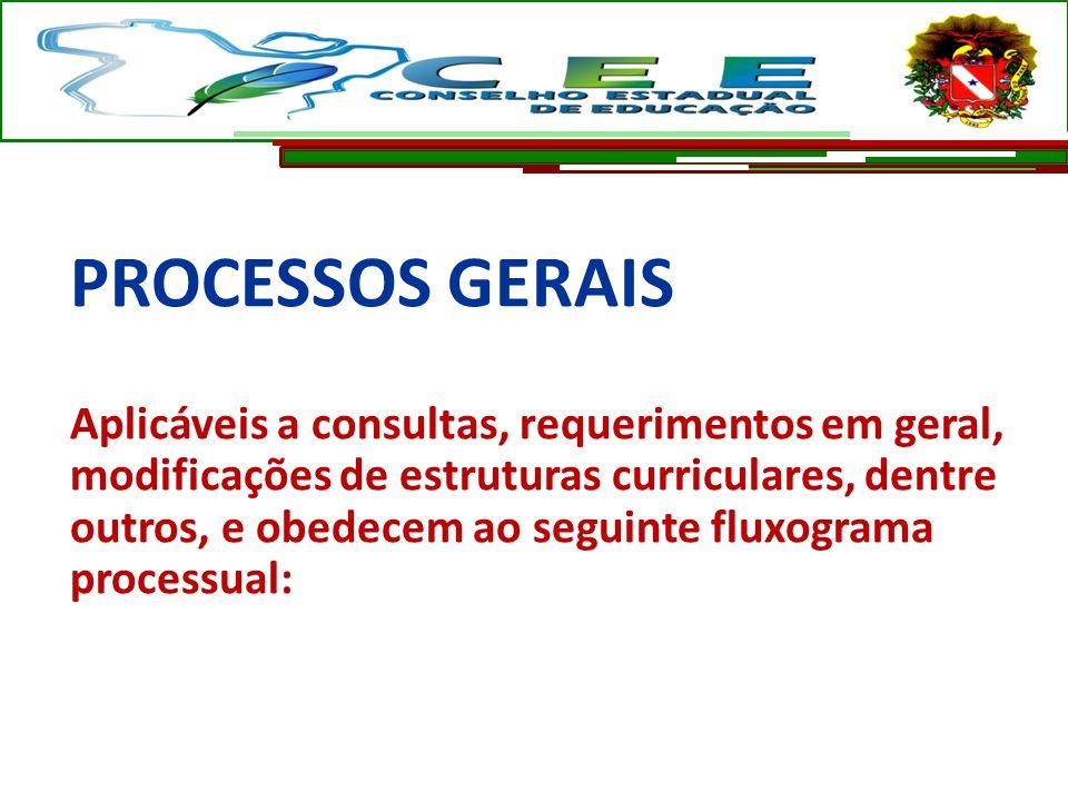 PROCESSOS GERAIS