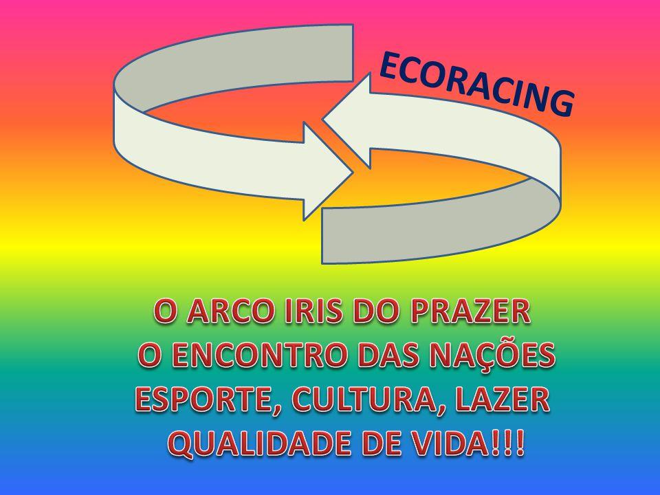ECORACING O ARCO IRIS DO PRAZER O ENCONTRO DAS NAÇÕES