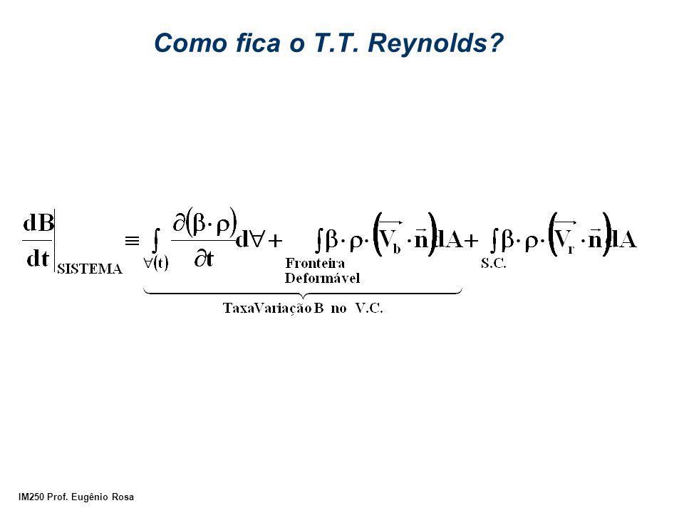 Como fica o T.T. Reynolds