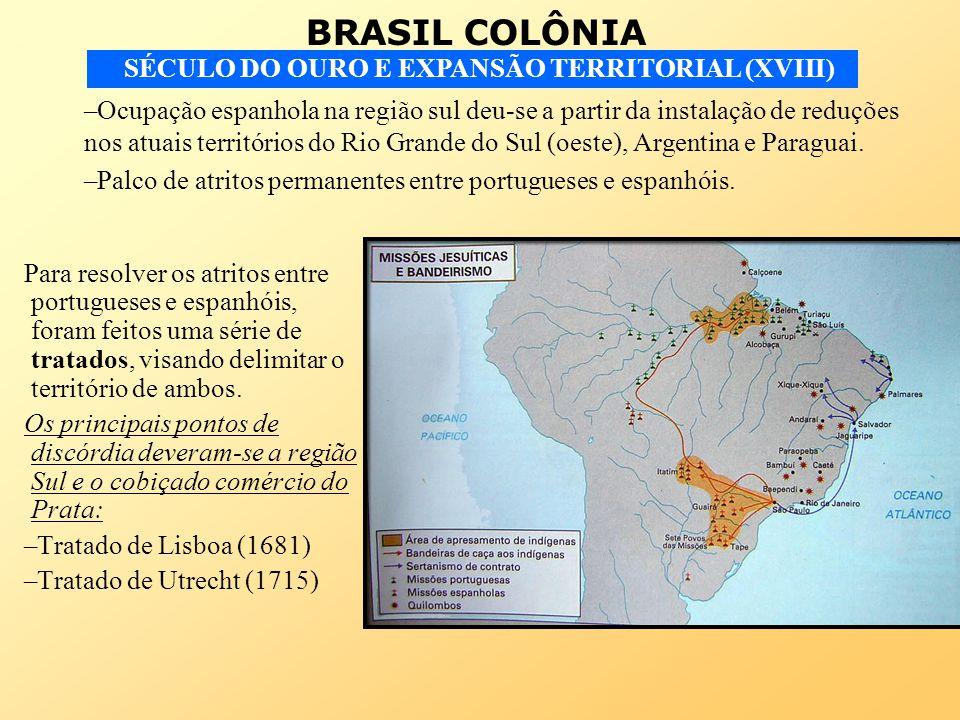 Ocupação espanhola na região sul deu-se a partir da instalação de reduções nos atuais territórios do Rio Grande do Sul (oeste), Argentina e Paraguai.