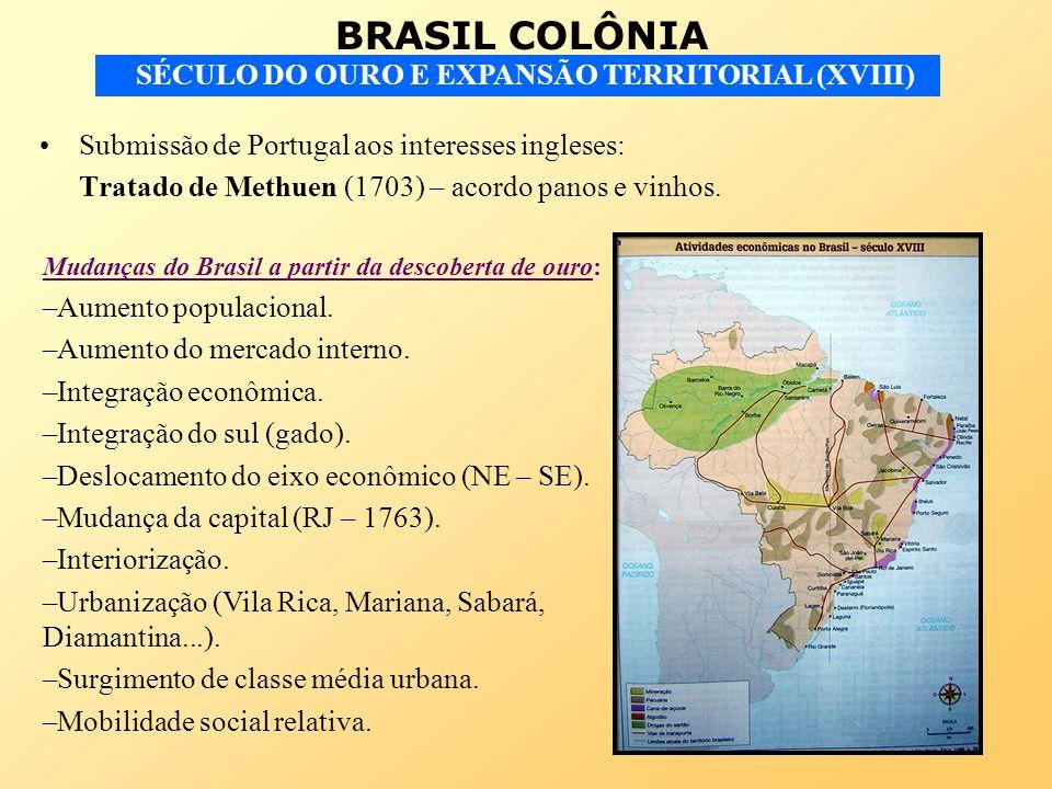 Submissão de Portugal aos interesses ingleses: