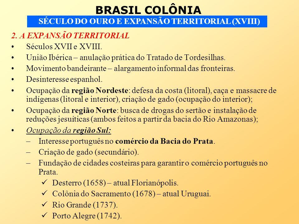 2. A EXPANSÃO TERRITORIAL