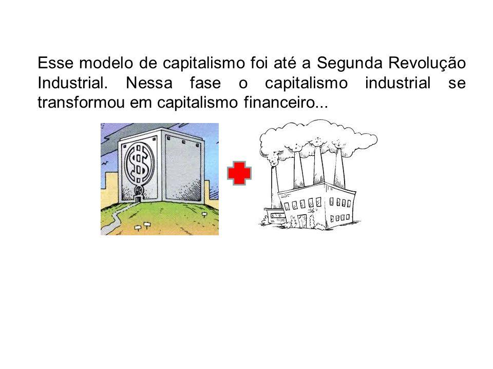 Esse modelo de capitalismo foi até a Segunda Revolução Industrial
