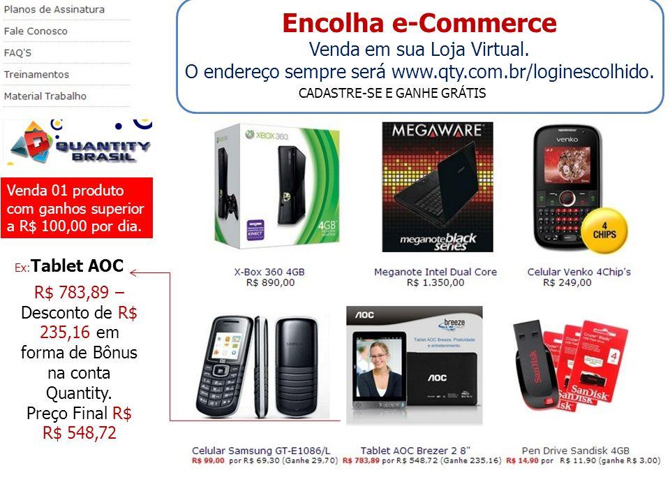 Encolha e-Commerce Venda em sua Loja Virtual.
