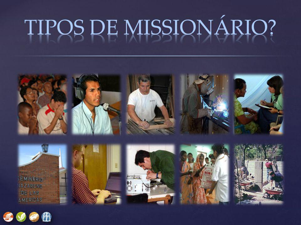 TIPOS DE MISSIONÁRIO