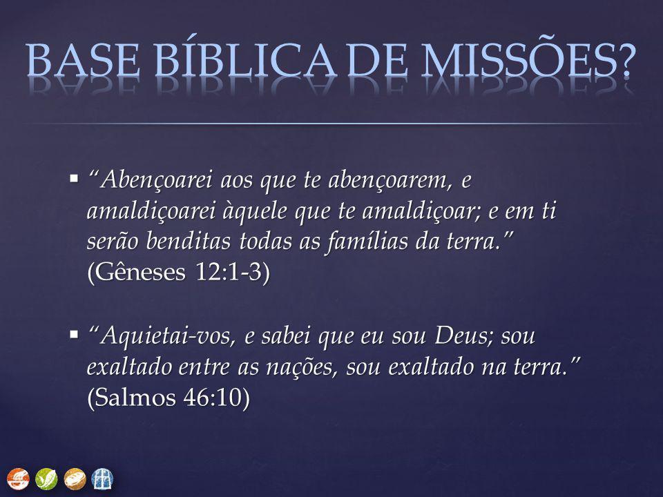 BASE BÍBLICA DE missões
