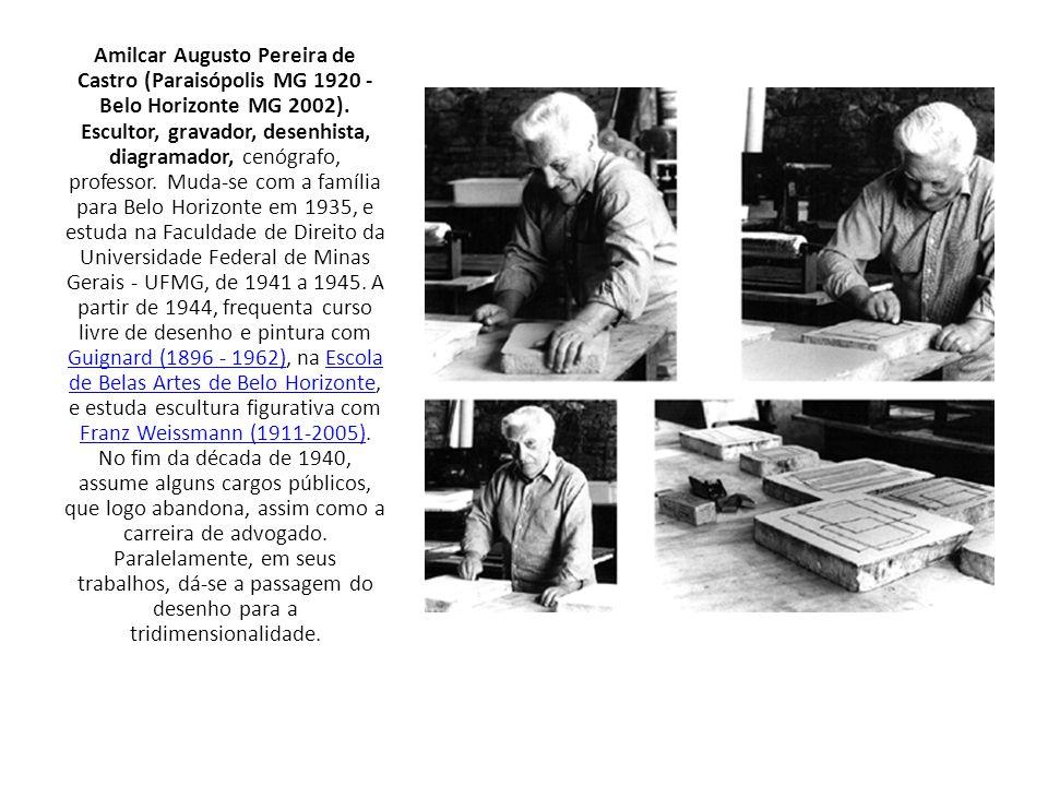 Amilcar Augusto Pereira de Castro (Paraisópolis MG 1920 - Belo Horizonte MG 2002).