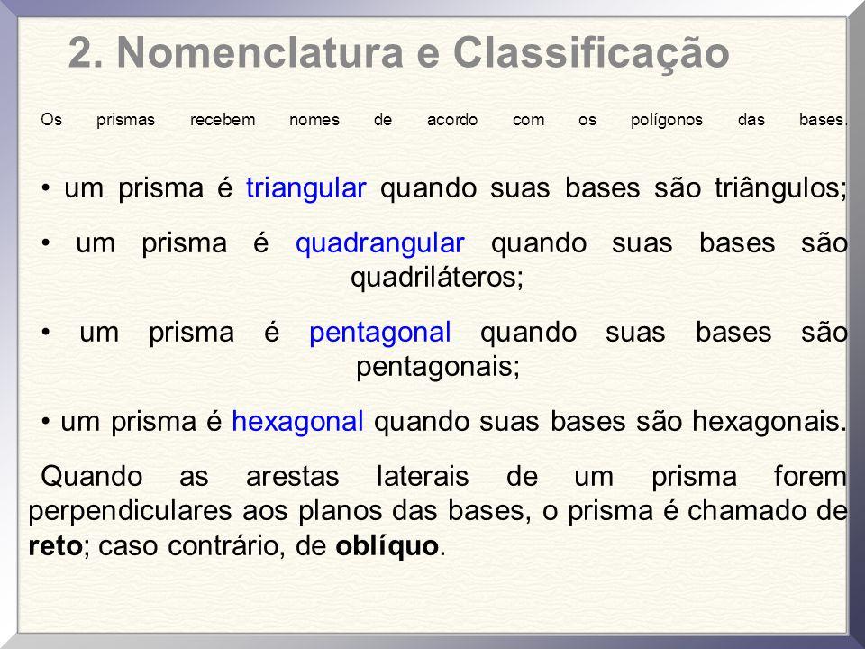 2. Nomenclatura e Classificação