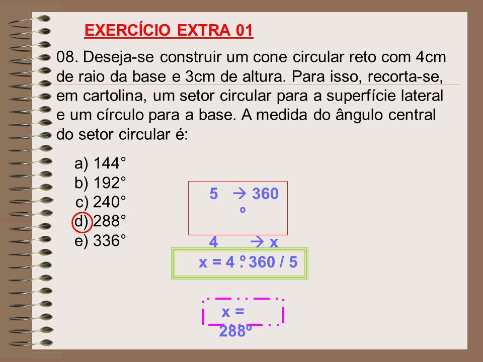 EXERCÍCIO EXTRA 01