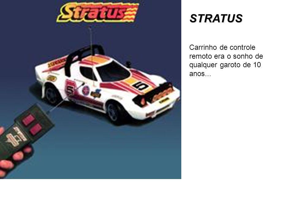 STRATUS Carrinho de controle remoto era o sonho de qualquer garoto de 10 anos...
