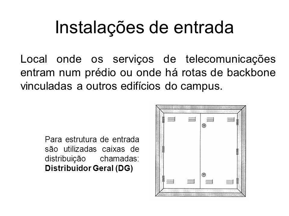 Instalações de entrada