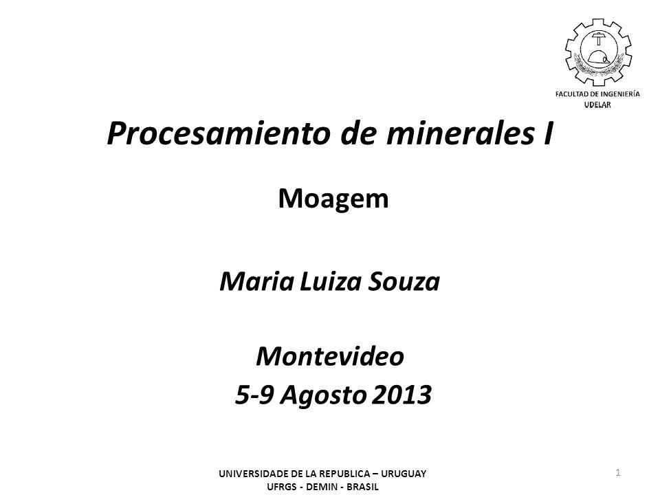 Procesamiento de minerales I Moagem