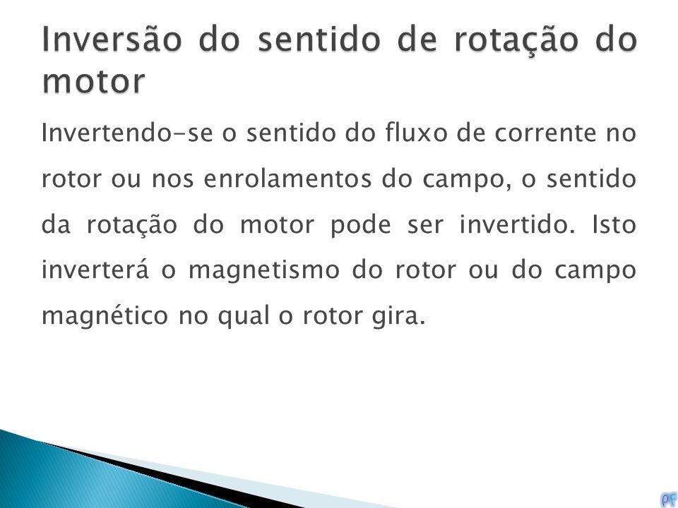 Inversão do sentido de rotação do motor