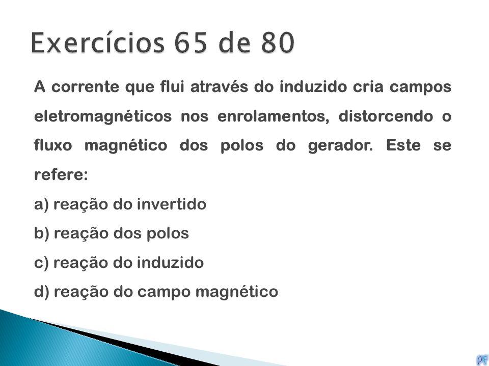 Exercícios 65 de 80