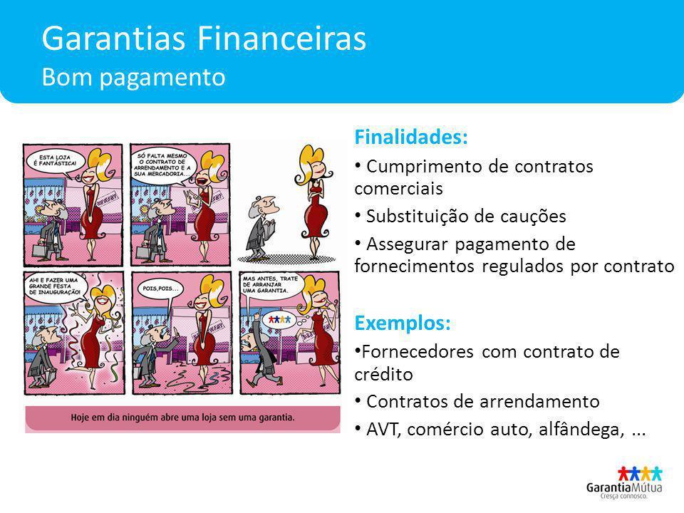 Garantias Financeiras Bom pagamento