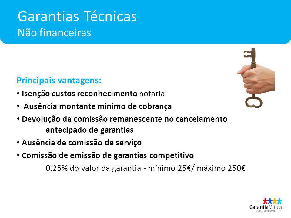 Garantias Técnicas Não financeiras