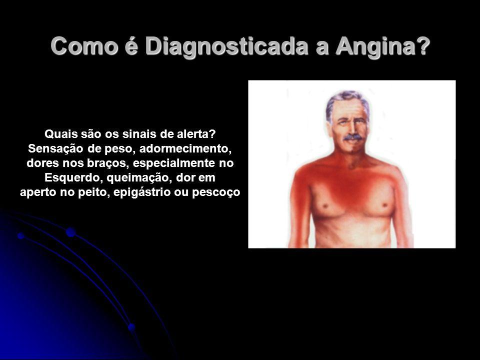 Como é Diagnosticada a Angina