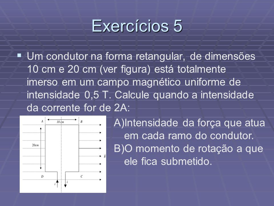 Exercícios 5