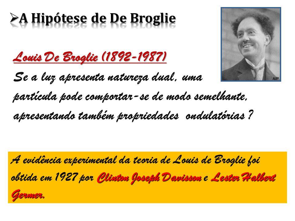 A Hipótese de De Broglie