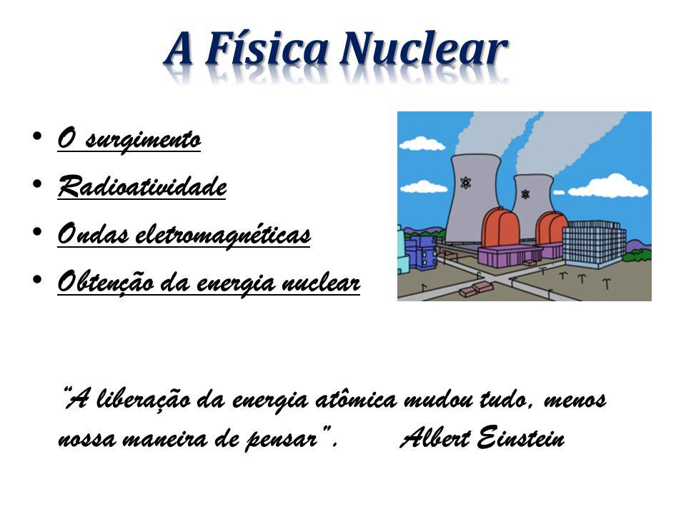 A Física Nuclear O surgimento Radioatividade Ondas eletromagnéticas