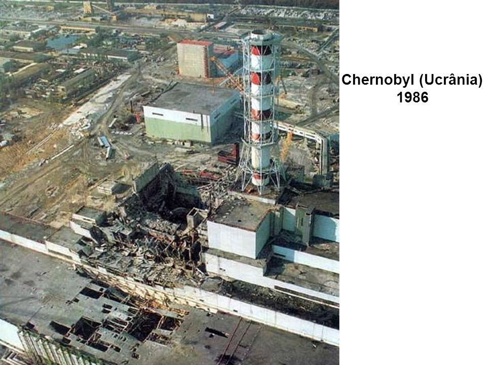 Chernobyl (Ucrânia) 1986