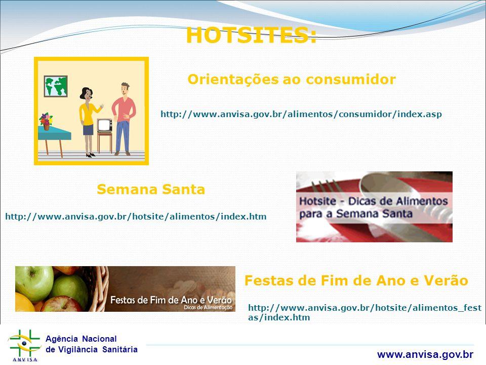 HOTSITES: Orientações ao consumidor Semana Santa