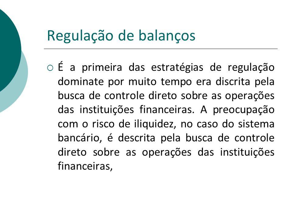 Regulação de balanços