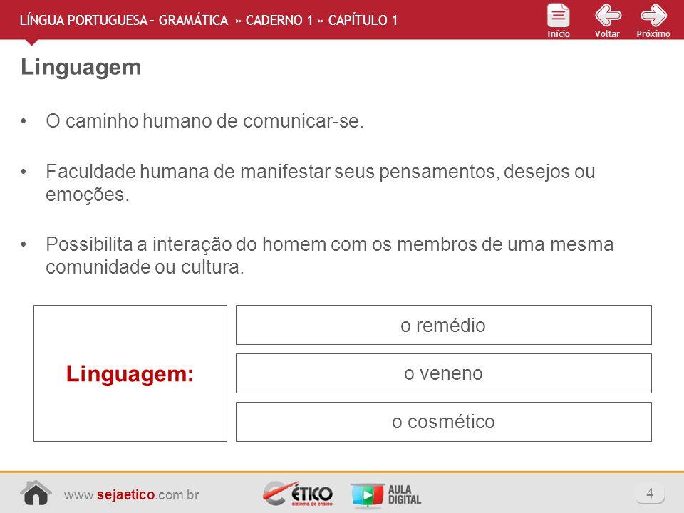 Linguagem Linguagem: O caminho humano de comunicar-se.