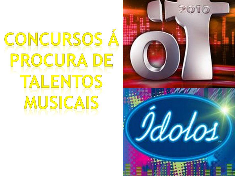 Concursos á procura de talentos musicais