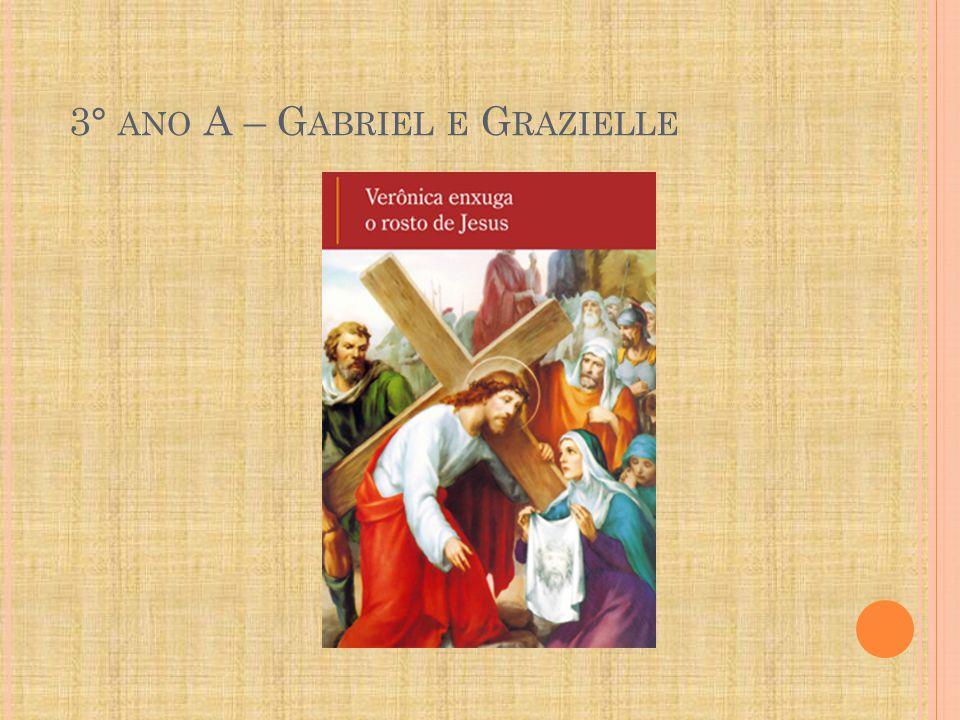 3° ano A – Gabriel e Grazielle