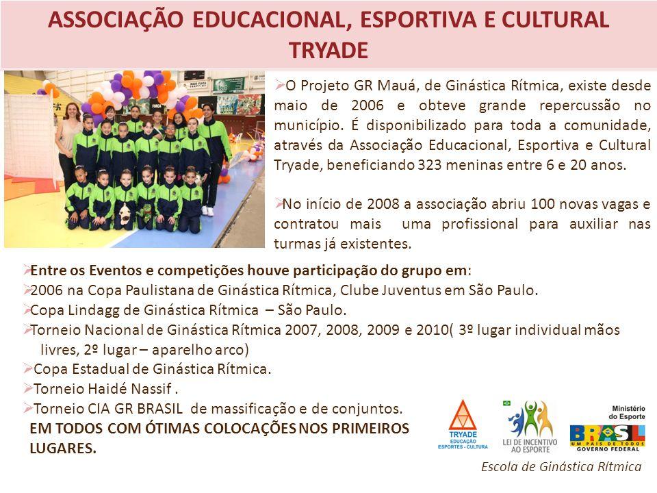 ASSOCIAÇÃO EDUCACIONAL, ESPORTIVA E CULTURAL TRYADE